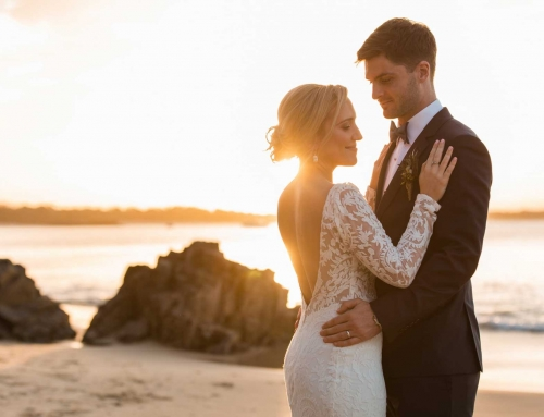 Leah + Dans Boho Beach Wedding