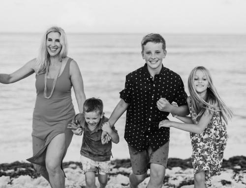 Caroline + Family